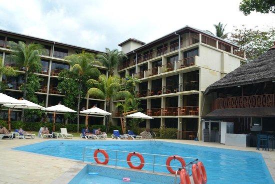 Coral Strand Smart Choice Hotel Seychelles: Deck Ocean