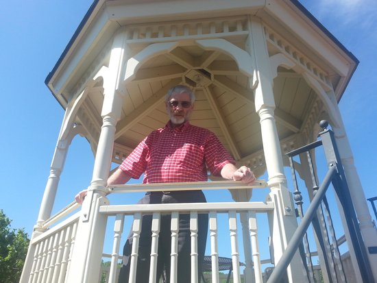 The Gazebo, a Delight, at the Scandinavian Inn