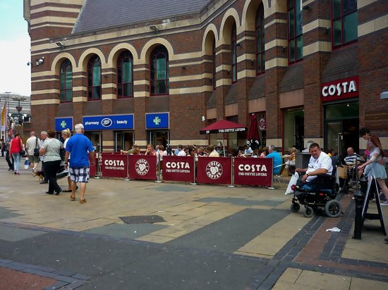 Costa Coffee Clayton Square Liverpool Menu Prices