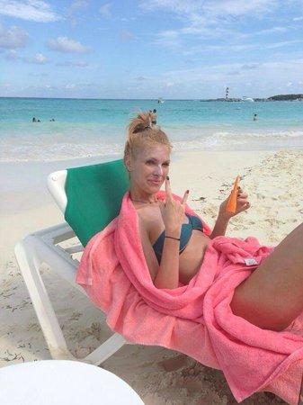 Grand Fiesta Americana Coral Beach Cancun: Пляж шикарный