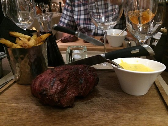 Minotor Steakhouse: Chateaubriand