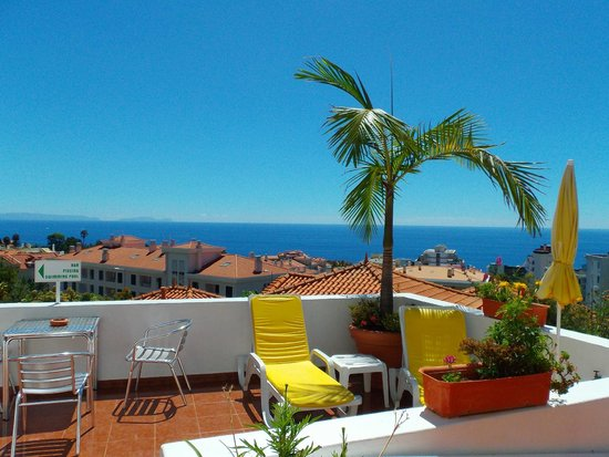 Residencial Vila Lusitania: Terrace and the view