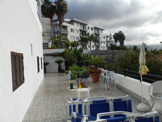 Residencial Vila Lusitania: Terrace
