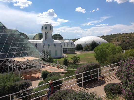 Biosphere 2: Biosphere site of guided tours