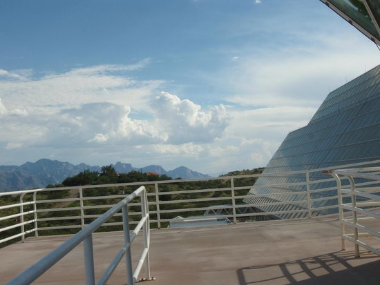 Biosphere 2: Mountains view