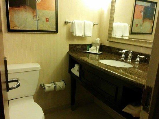 Hilton Newark Penn Station : bathroom