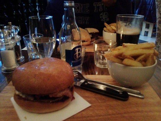 Salthouse Brasserie: Cena