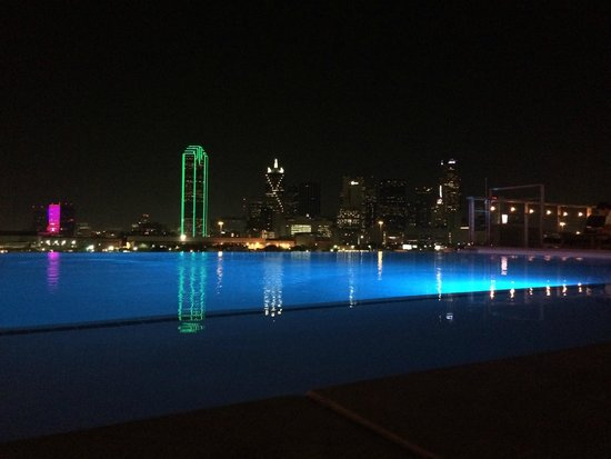NYLO Dallas South Side: Rooftop view