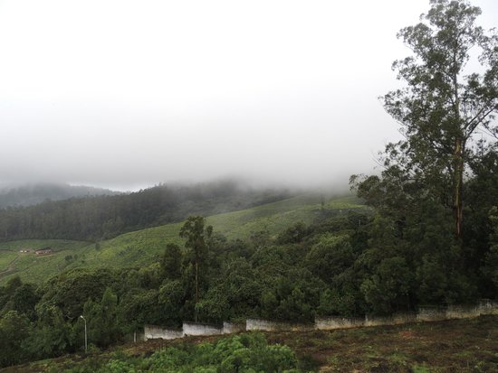 Accord Highland Hotel Ooty: View with mist cover