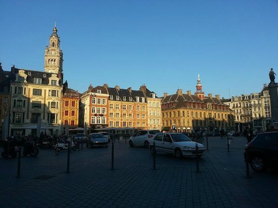 Novotel Lille Centre Grand Place : Plein dichtbij het hotel.