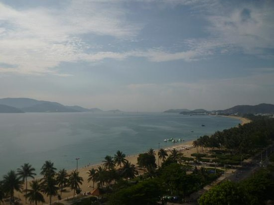 Novotel Nha Trang : view from the balcony (room ended in a 4)
