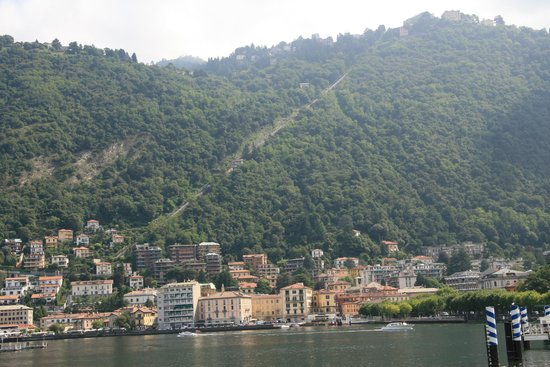 Funicolare Como-Brunate : the Funicular from the Lake