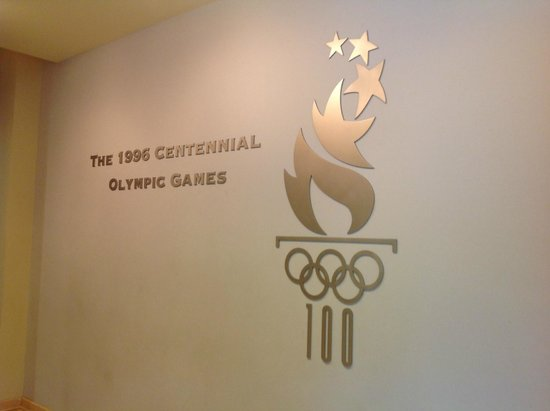 Atlanta History Center: Entrance to the Olympic Games Exhibit