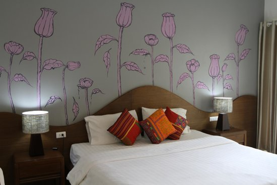 The Opium Serviced Apartment & Hotel : bedroom area