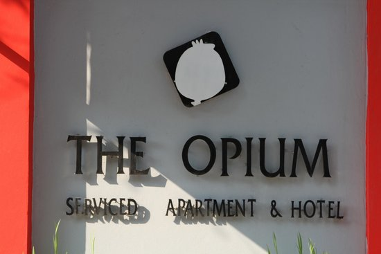 The Opium Serviced Apartment & Hotel : logo of the 'OPIUM' hotel in Chiang mai