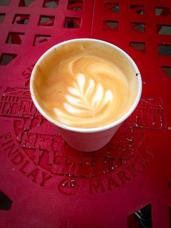 Urbana coffee in Findlay Market: great lattes!