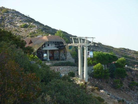 Teleferico Benalmadena : The terminus