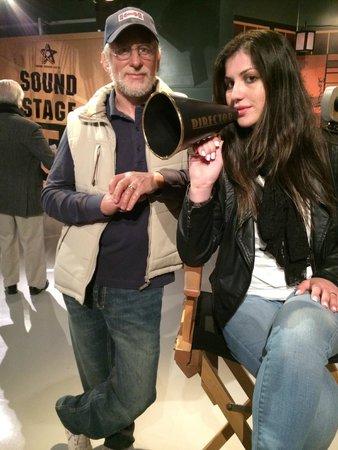 Madame Tussauds Hollywood: Meu amigo Steven Spielberg!!!