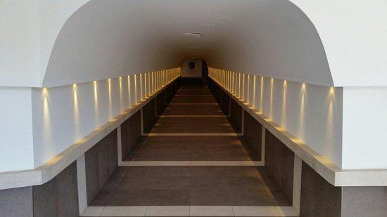 San Giorgio Palace Hotel: Tunnel fantastico