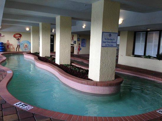 Sea Crest Oceanfront Resort Indoor Lazy River