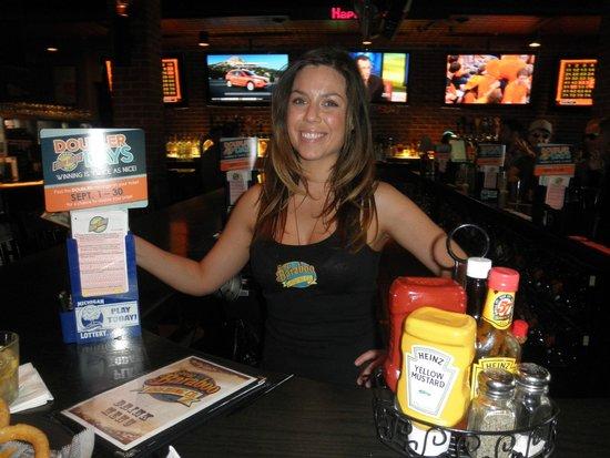 Great Baraboo Brewing Co.: leann, our cute bartender