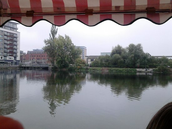 Brayford Belle Lincoln: A View from inside the boat.