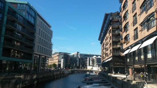 Aker Brygge: canale
