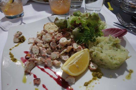 Restaurant L'Escale : Octopus Salad