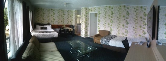 Airport Travelair Motor Inn: Room was great!