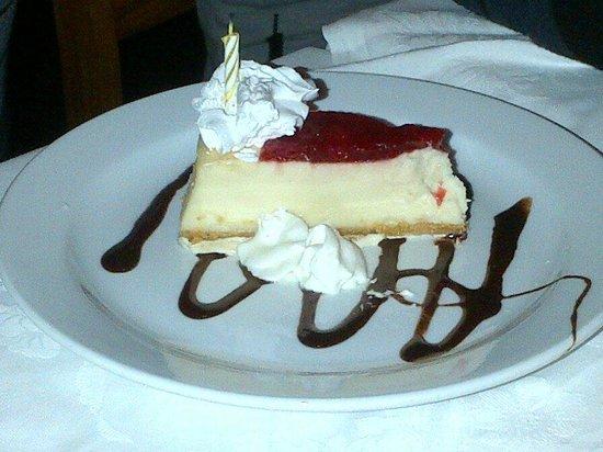 Angelo's: Birthday slice