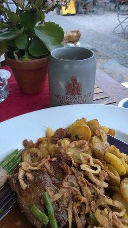 Mohrenplatz Wirtshaus & Schmankerlmarkt: Zwieblrostbrat'n aus der Rinderlend'n