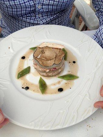 Le Sansot : Artichauts crabe et truffes