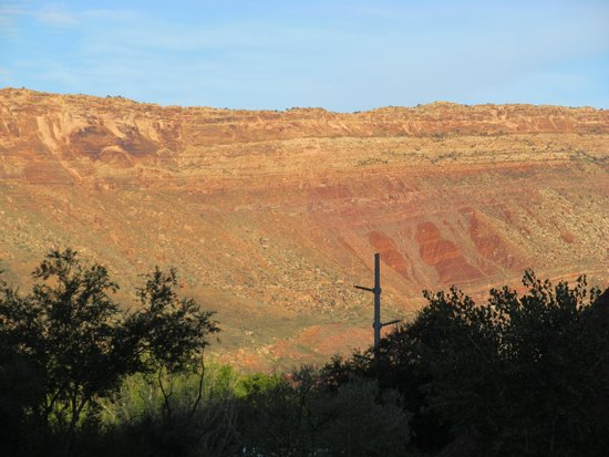 Moab Springs Ranch: View from balcony