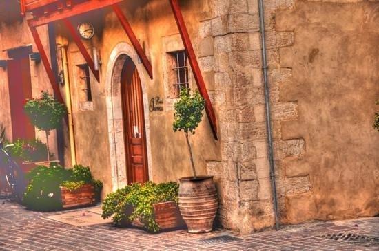 Hotel Ionas: ingresso Ionas hotel