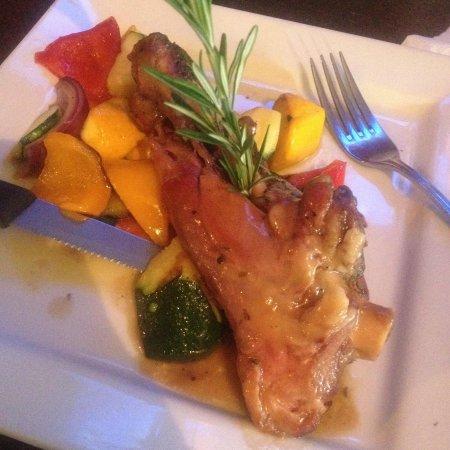 Corks Restaurant : Lamb shank (I asked for no potatoes)