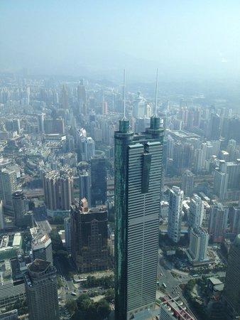 The St. Regis Shenzhen: View from hotel
