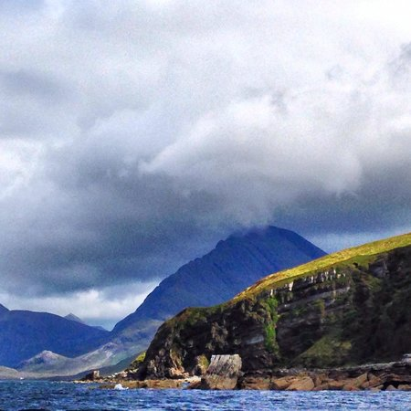 Misty Isle Boat Trips: Views on the journey