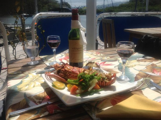 Captain's Cafe: Reef Lobster -delicious