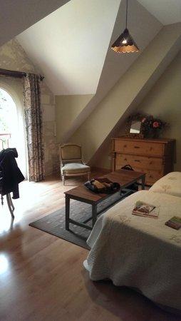 Domaine de la Maison Neuve: twin beds room
