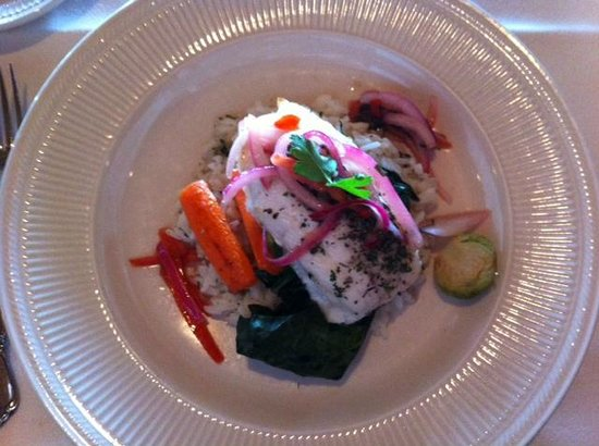 Oyster Bar on Chuckanut Drive: stuffed fish special