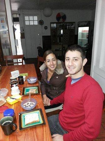 Makus Hostel : Café da manhã