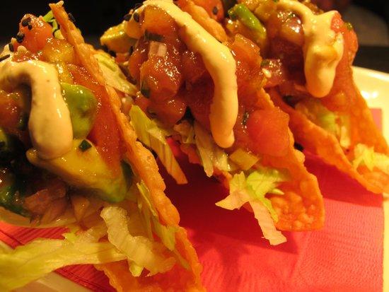 bb's: Ahi Tuna Tacos