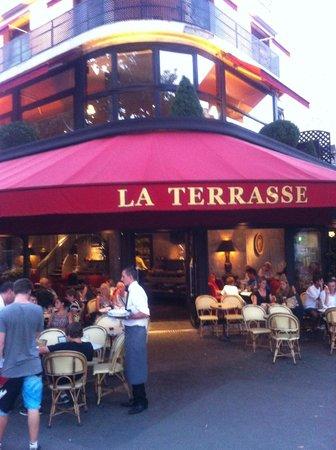 la terrasse paris opera bourse restaurant reviews. Black Bedroom Furniture Sets. Home Design Ideas