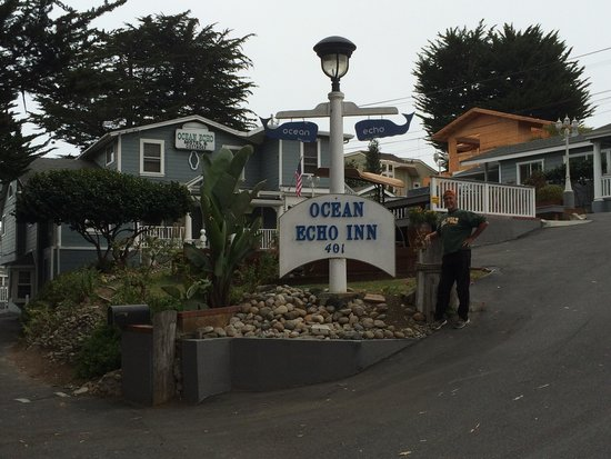 Ocean Echo Inn & Beach Cottages: Entrance