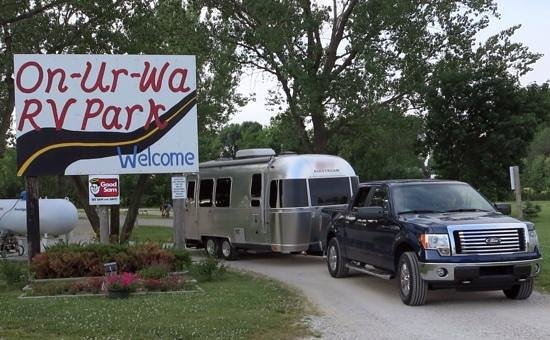 On-Ur-Wa RV Park: On-Our-Wa out West!