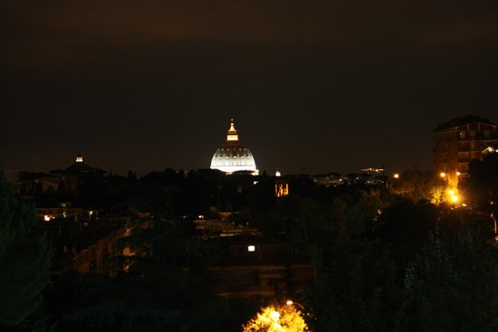 Cardinal Hotel St. Peter: View from the Roof Top Lounge