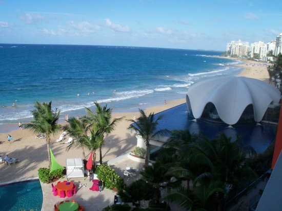 La Concha Renaissance San Juan Resort: View from room