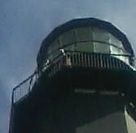 Tybee Island Lighthouse Museum: Top of lighthouse