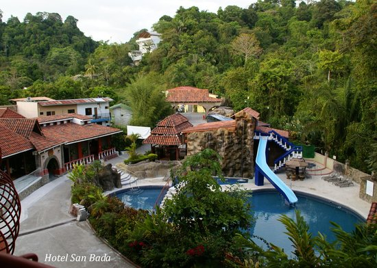 Hotel San Bada: San Bada slide pool & grounds