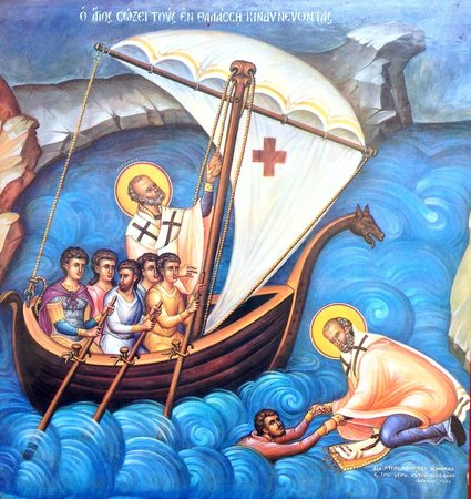 St. Nicholas, the patron saint of sailors. - Picture of St. Nicholas Greek Orthodox Cathedral, Tarpon Springs - Tripadvisor